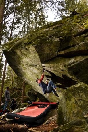 Flow gab ein beeindruckendes Bouldercomeback